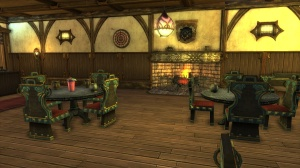A cozy neighborhood pub.  Poly's Night Out, by Polynomia@Gelidra EU.