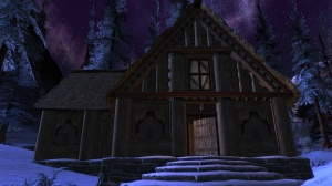 This cabin's structural detailing is meticulous.  Legion's Bane Lodge, by Jacksen@Faeblight NA